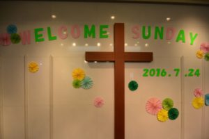 Welcome Sunday 2016  (1)